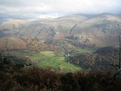 Rock Climbing Photo: View of Castle Rock across the Thirlmere Valley.ph...