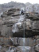 Rock Climbing Photo: Stairway apron 12/4/11