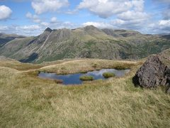 Rock Climbing Photo: View to the Langdale Pikes.photo Bowker