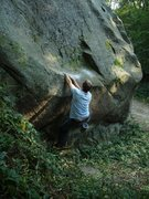 Rock Climbing Photo: starting...