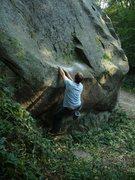 Rock Climbing Photo: starting...