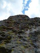 Rock Climbing Photo: Jug Massacre 5.8