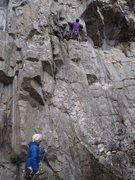 Rock Climbing Photo: Britton on Liberate Gorbatschow 6a+