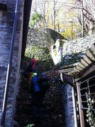 Rock Climbing Photo: The fairy tale approach