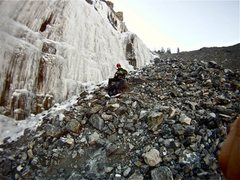Rock Climbing Photo: Bridal Veil Falls (Right) 12/10/2011