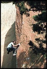 Rock Climbing Photo: Alan Watts on Split Image.