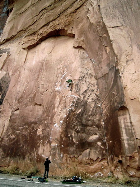 Rock Climbing Photo: My buddy Blaine Limpus on Knapping with the Alien ...