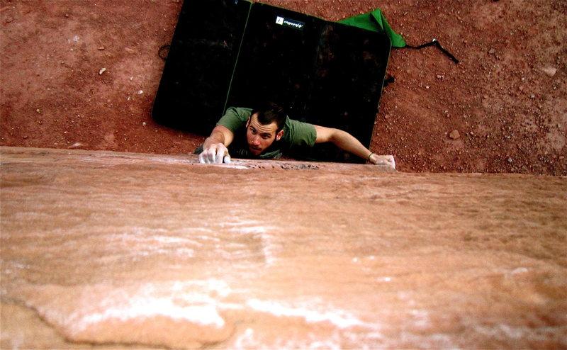 Rock Climbing Photo: Big Bend bouldering like V5?!