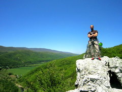 Summit Seneca Rocks WV  <br />