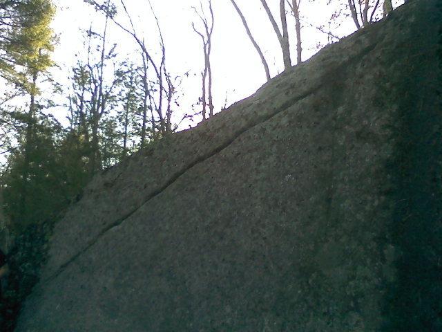 Rock Climbing Photo: Premature Escalation, V0-.