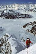 Rock Climbing Photo: Top of the steep stuff Lynn Clark on day 3 -  SW R...