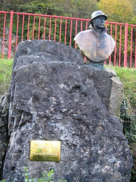 King Albert I memorial at Dinant