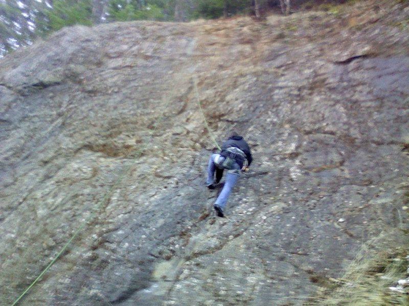 Rock Climbing Photo: roadcut