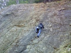 Rock Climbing Photo: roadcut