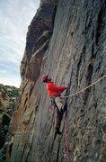 Rock Climbing Photo: Starting 2nd pitch. 11 Dec '11. Photo: Adam Therne...