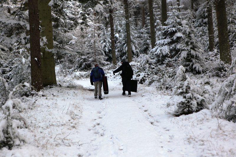 Rock Climbing Photo: Walking into the Woods