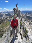 Rock Climbing Photo: Roddy, Carlos, & Matt on the Matthes Crest.