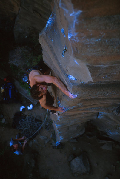 Rock Climbing Photo: Guess