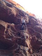 Rock Climbing Photo: Friend 5.10