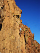 Rock Climbing Photo: Another photo of the route, great line.