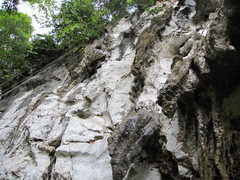 Rock Climbing Photo: Overview of Gunung Buros Wall.