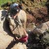 Jeff and Dave climbing in the Granite Dells in Prescott, AZ