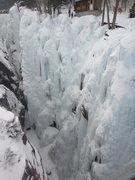 Rock Climbing Photo: Below the office...2011