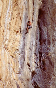 Rock Climbing Photo: Josh Robinson on 1st pitch- Mothership Connection ...