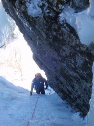 Rock Climbing Photo: Upper Hitchcock.