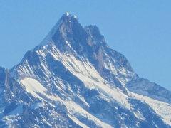 Rock Climbing Photo: Schreckhorn, Bernese Oberland