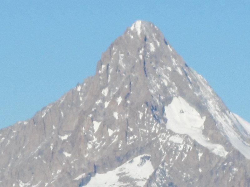 Breithorn from Simplon Pass.