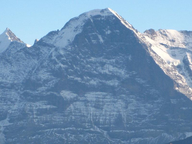Rock Climbing Photo: Eiger Nordwand