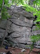 Rock Climbing Photo: Main Face