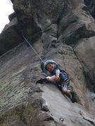 "Rock Climbing Photo: Garrett Gillest at Table on ""Feeding Frenzy&q..."