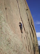Rock Climbing Photo: Turkey Foot Variation, Kevin Gillest climber.