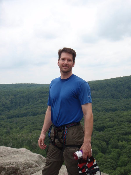 Atop the East Ramparts of Devil's Lake, Wisconsin