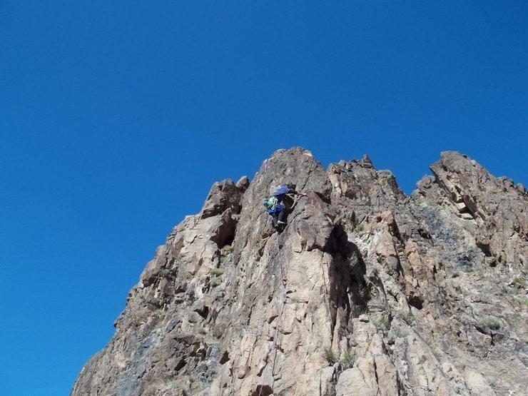Rock Climbing Photo: TrundleBum @ MannyLand -1a