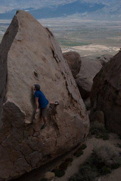 Rock Climbing Photo: Blood Kin
