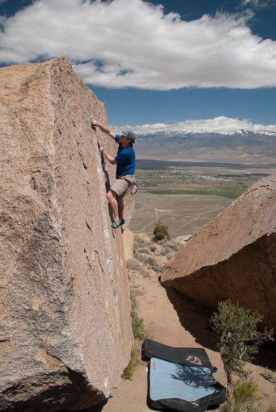 Rock Climbing Photo: Head Butt V1