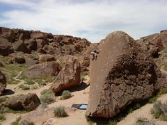 Rock Climbing Photo: On a Heavenly Path...