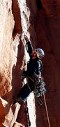 Rock Climbing Photo: last pitch on spaceshot