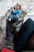 Rock Climbing Photo: Chris Keller on Lip Traverse V3, Dec 2011.  mattku...