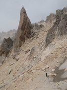 Rock Climbing Photo: Approaching La Vieja
