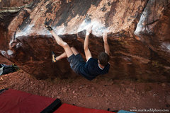 Rock Climbing Photo: John Starr on Alexisizer, Dec 2011.   mattkuehlpho...