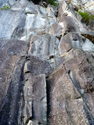 Rock Climbing Photo: Tatoosh from the Base  Thin fingers can be seen to...