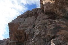 Rock Climbing Photo: Scott on a santan classic