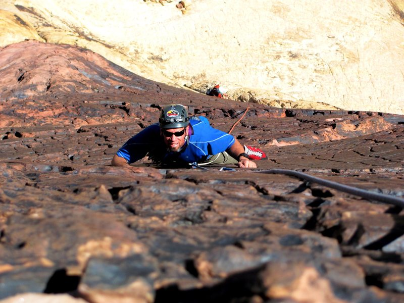 Rock Climbing Photo: Todd on P3