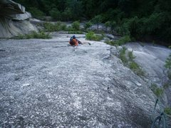 Rock Climbing Photo: Name the route