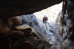 Rock Climbing Photo: Rappin off owls head