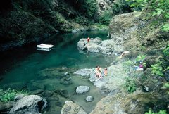 Rock Climbing Photo: Elk River, inland a bit from Port Orford.